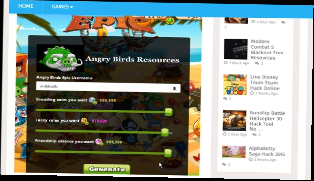 Angry Birds Epic Get Unlimited Coins