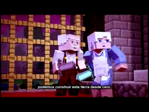 minecraft song from the ground up (Spanish subs/Sub Español)