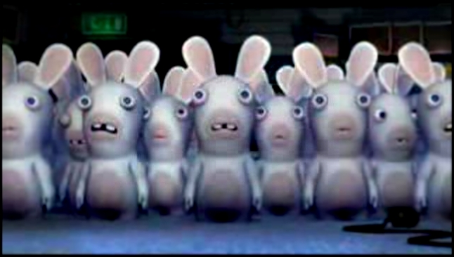 Клип Raving Rabbids - Making fun of Everyday Life