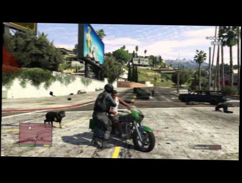 GTA 5 AMAZING CRAZY GHOST RIDER