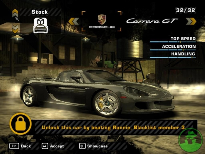 [8]NFS Most Wanted Black Edition (BASS)