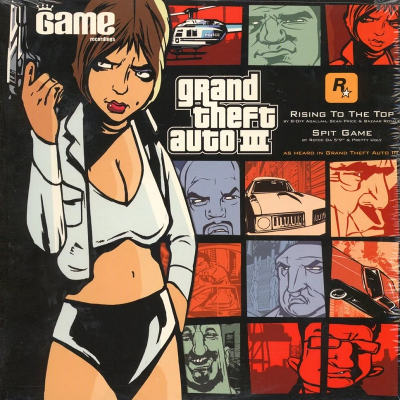 Agallah feat. Sean Price - Rising to the top (OST GTA 3 Game Radio)