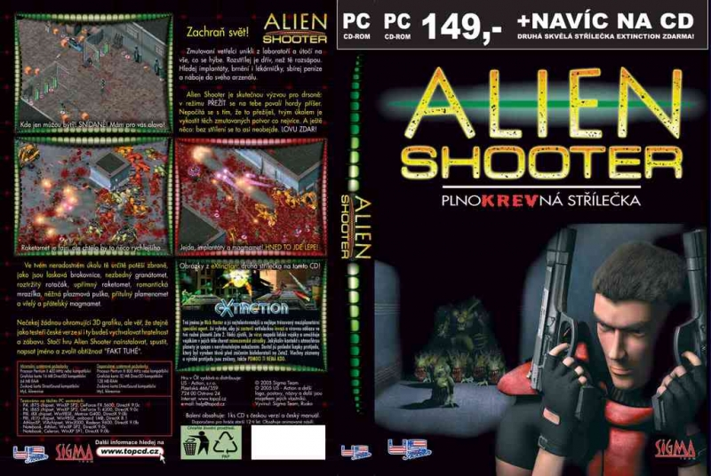 Alien Shooter - музыка из игры