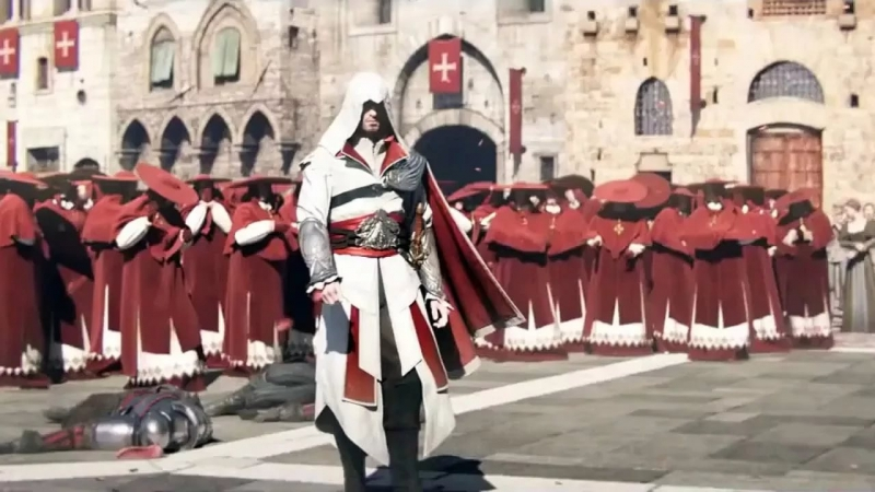 assassins creed brotherhood - e3 trailer theme