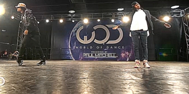 Les Twins/ FRONTROW/ World of Dance Los Angeles 2016