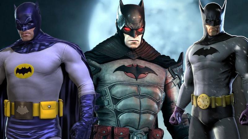 Baan Arkham Knight - All Costumes and Baobile Skins  trailer