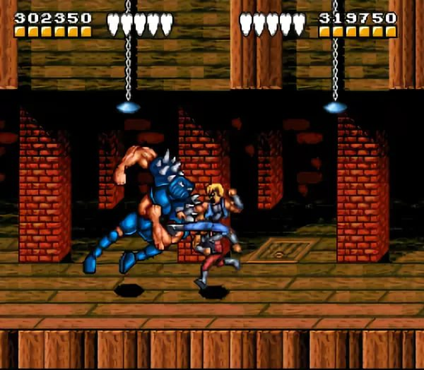 battletoads n' double dragon  the ultimate team - level 2 vgm snes