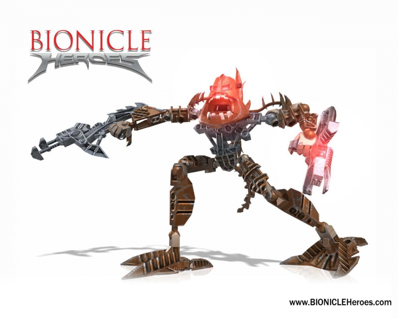 Bionicle Heroes - Avak's Stronghold