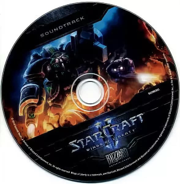 Blizzard Entertainment StarCraft 2 Wings Of Liberty OST - WINGS OF LIBERTY