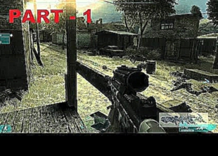 Ghost Recon Advanced Warfighter 2 - Part 1