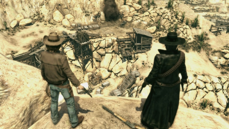 CALL OF JUAREZ - BOUND IN BLOOD 2009
