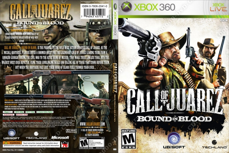 Call Of Juarez Bound in Blood - Guitar