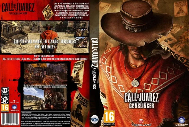 Call of Juarez Gunslinger OST - Old But Deadly
