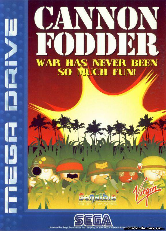 Cannon Fodder - Try AgainMega Drive VA6.5