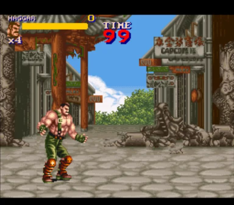 Capcom - Mighty Final Fight Stage 5