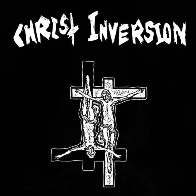 Christ Inversion - Blazing Thrones Of Napalm