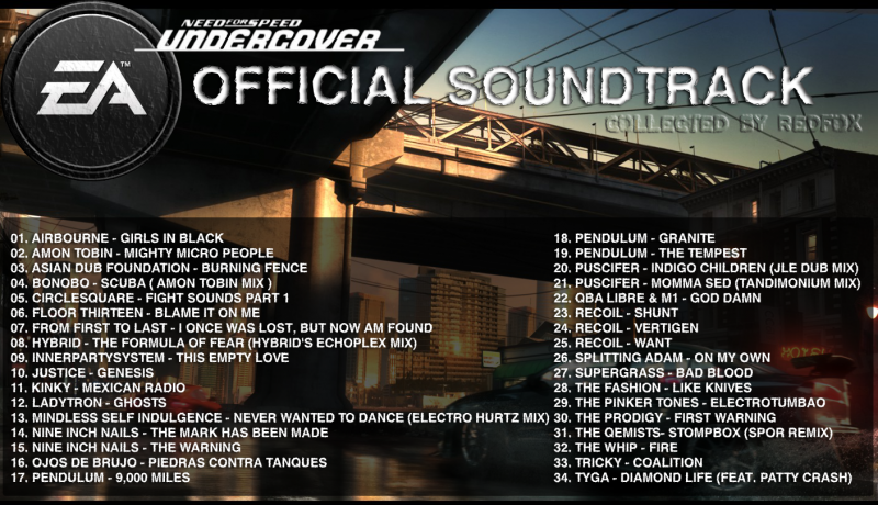 Circlesquare - Fight Sounds, Part 1-OST Need For Speed Undercover