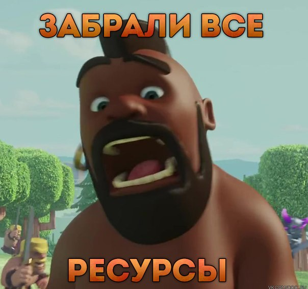 Clash of Clans Flight of the Barbarian coc_ru