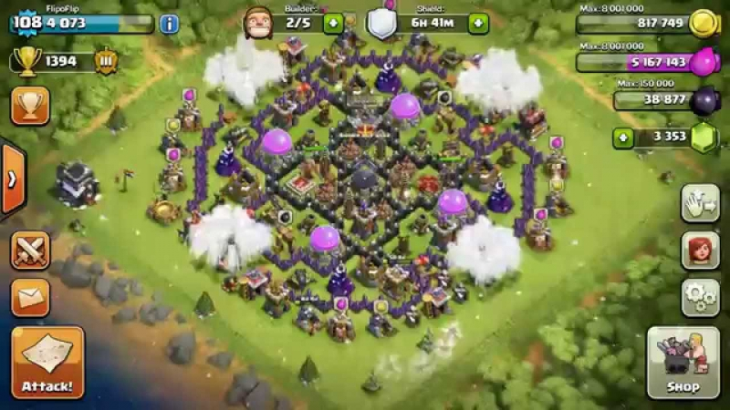 Clash of clans - GhostHD