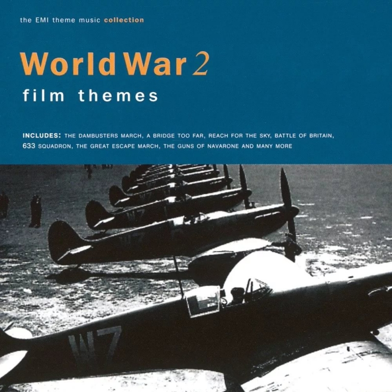 Classic War Film Music-The Longest Day - 'Aces High'-Luftwaffe march, Battle of Britain
