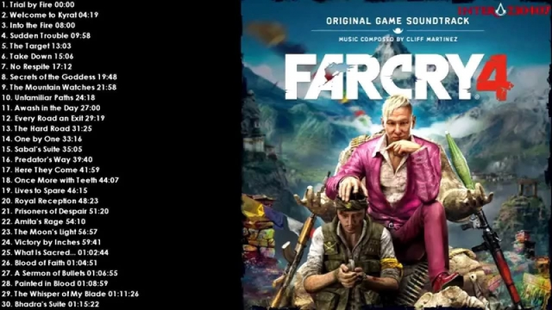 Cliff Martinez - Once More with Teeth OST Far Cry 4