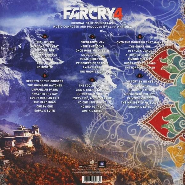 Cliff Martinez (OST Far Cry 4) - Once More with Teeth CD-1
