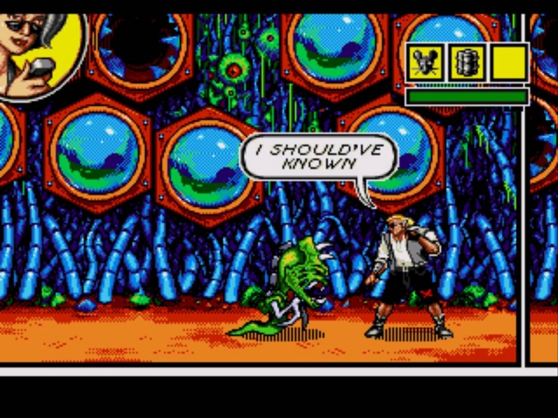 Comix zone (SEGA) - Nigth of Mutants