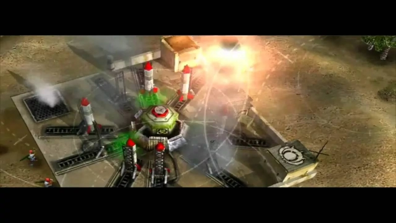 Command and Conquer Generals - China defeat