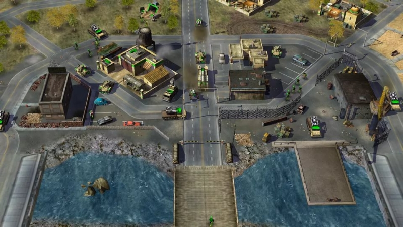 Command and Conquer Generals - USA victory