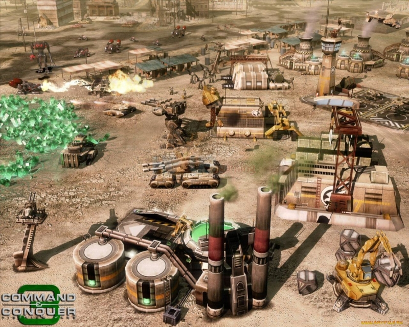 Command & Conquer 3 Tiberium Wars - Global Response