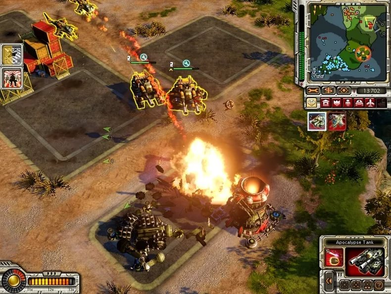 Command & Conquer Red Alert-3 Uprising - Allied combat uprising. Альянс