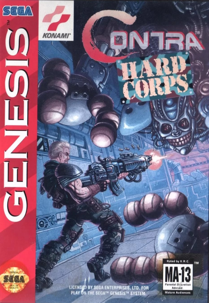 Contra The Hard Corps - Soundtrack - Contra Overdrive