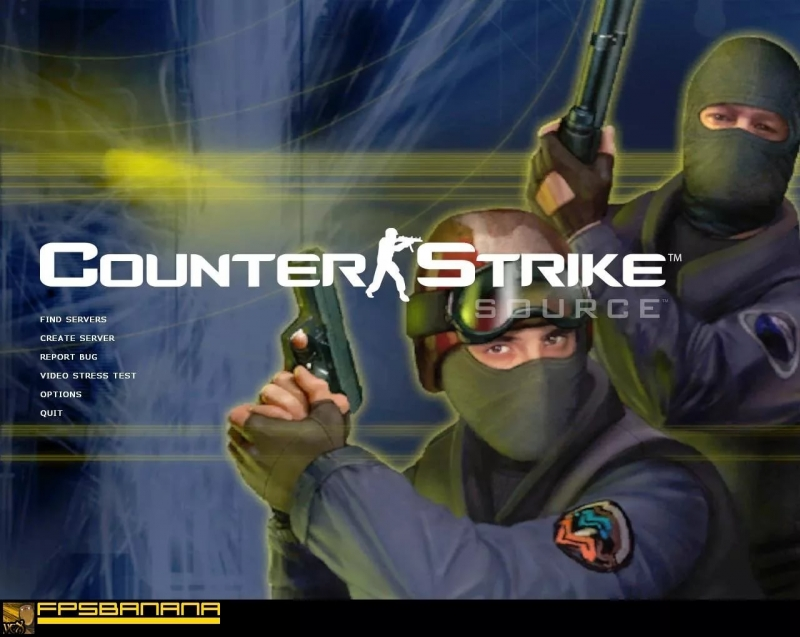 Counter Strike Source - Музыка из меню