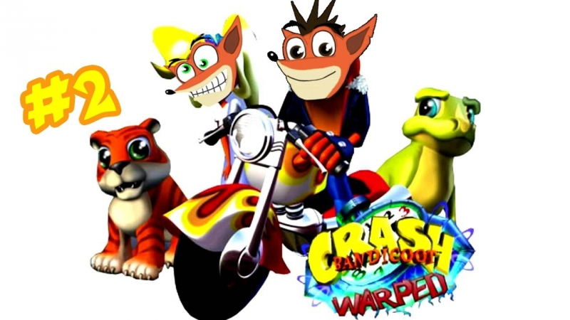 01 Crash Bandicoot Warped Title