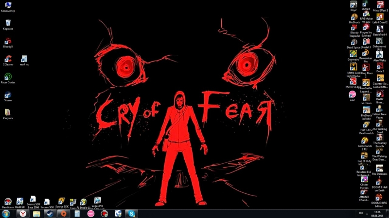 Cry of Fear OST - Intro Dark City