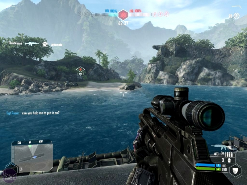 Crysis 2 - Multiplayer Demo Part 1 loading