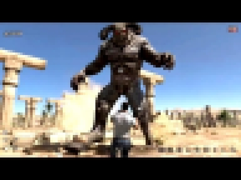 Serious Sam 3 BFE Jewel of the Nile intro, Last level, final boss fight and ending