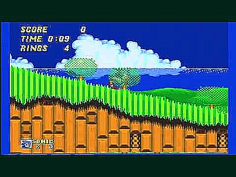 Mega Drive - Sonic The Hedgehog 2 - Emerald Hill Zone - Act 1 - 0:21
