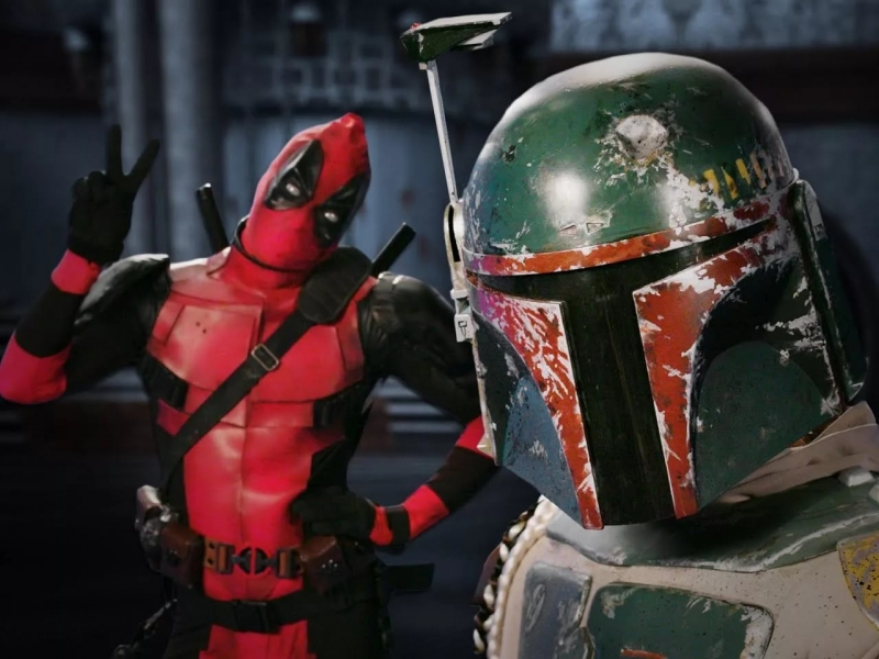 Deadpool & Boba Fett - Epic Rap Battle