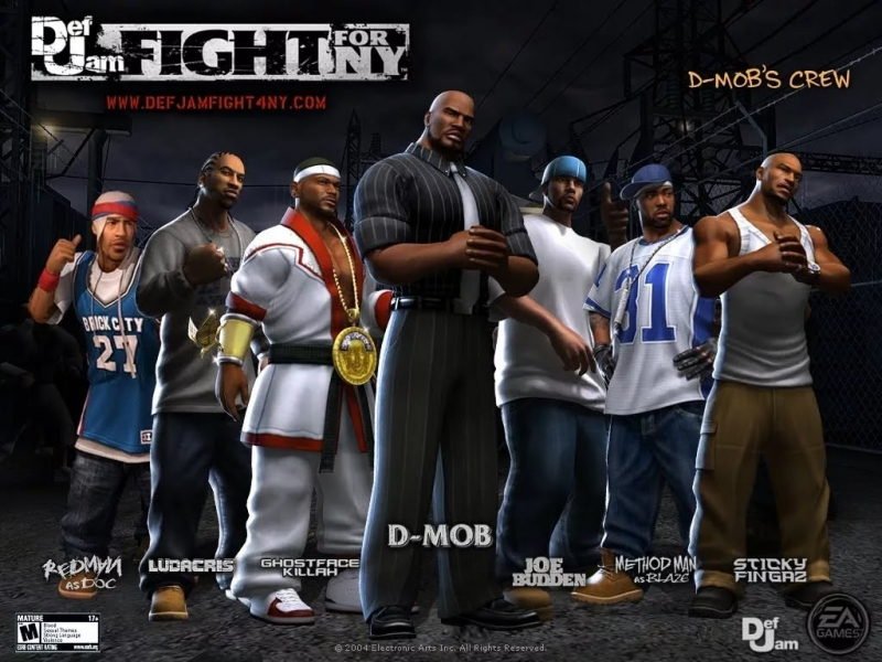Def Jam Fight for NY - All Blazin Themes