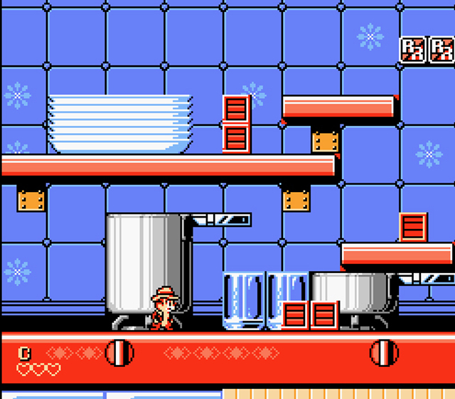 DENDY - Chip n' Dale Rescue Rangers 2 factory
