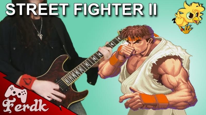 Street Fighter Ryu Theme Metal Cover из игры Dendy Music