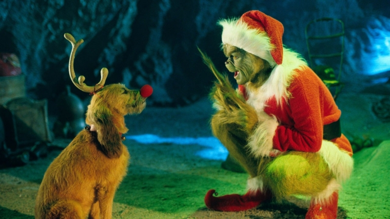 Reindeer dialogue Jim Carrey  OST How The Grinch Stole Chrisas