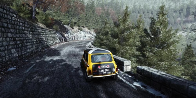 DiRT Rally - The Road Ahead - Winter Won Audio rip from trailers, w
