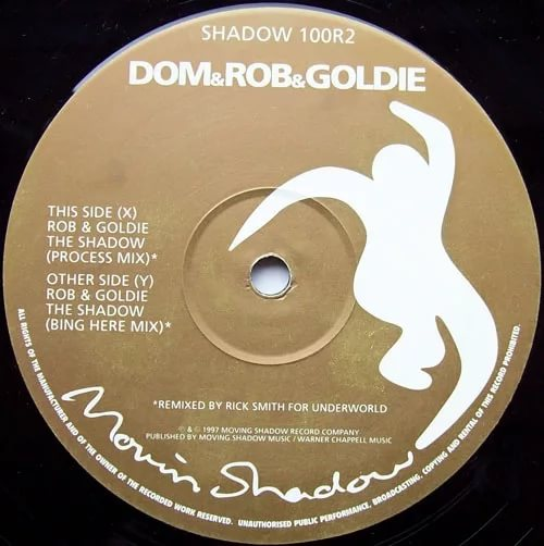 DJ Goldie - Shadow boxing