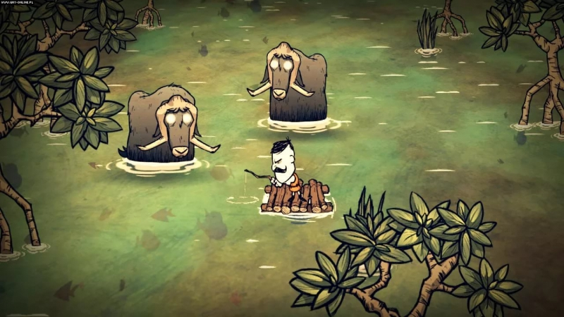 Don't starve Shipwrecked - Work