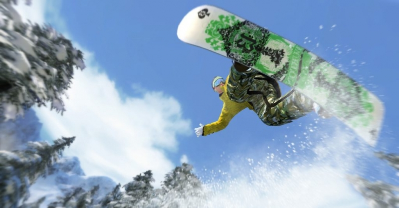 DUNK - Time to FlyShaun White Snowboarding
