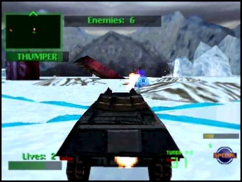 Let's Play Twisted Metal 2: World Tour 07 - Antarctica Assault