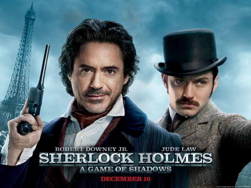 E.S. Posthumus - Unstoppable  Sherlock Holmes A Game of Shadows