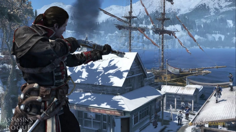 Elitsa Alexandrova (Assassin's Creed Rogue) - David and Goliath